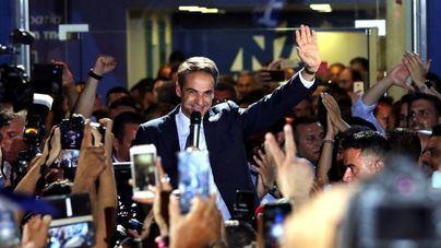 Los conservadores de Nueva Democracia ganan en Grecia con mayoría absoluta