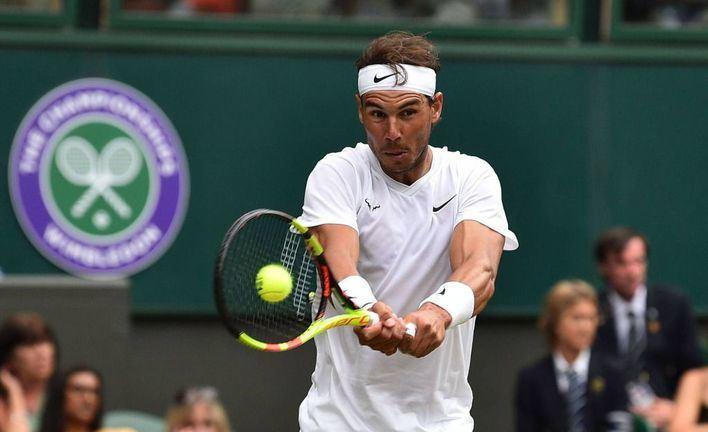 Nadal vence a Sousa y se planta en cuartos de final en Wimbledon