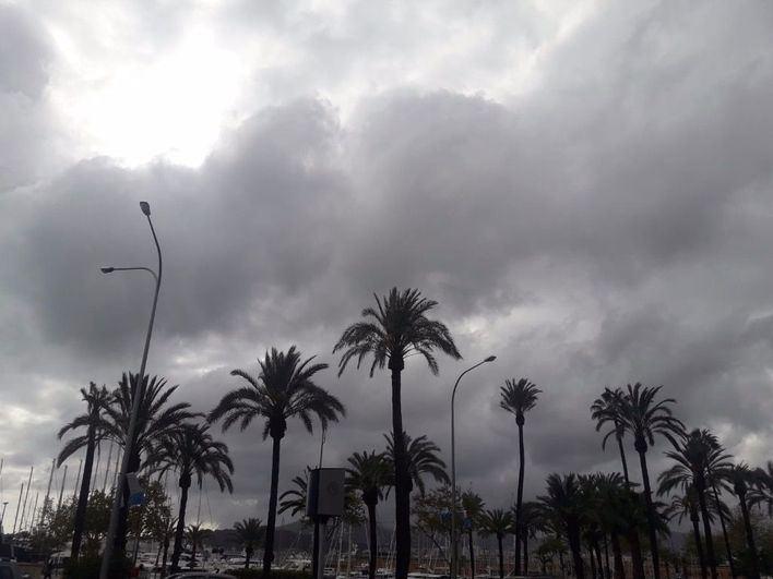 Las lluvias dejan paso a nubes dispersas