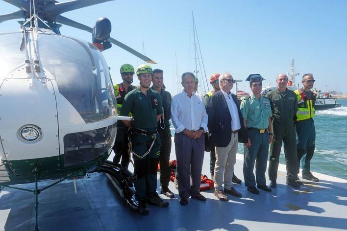 La Guardia Civil celebra su 175 en el Club Náutico de Palma