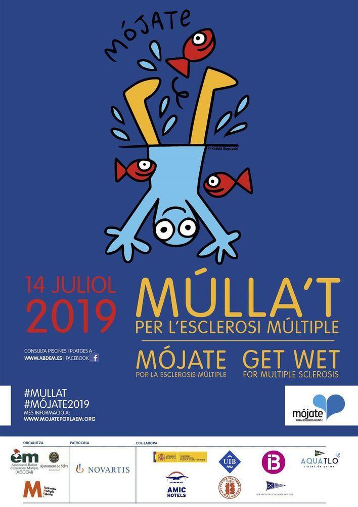 La Asociación Balear de Esclerosis Múltiple celebra este domingo la jornada solidaria 'Mójate'