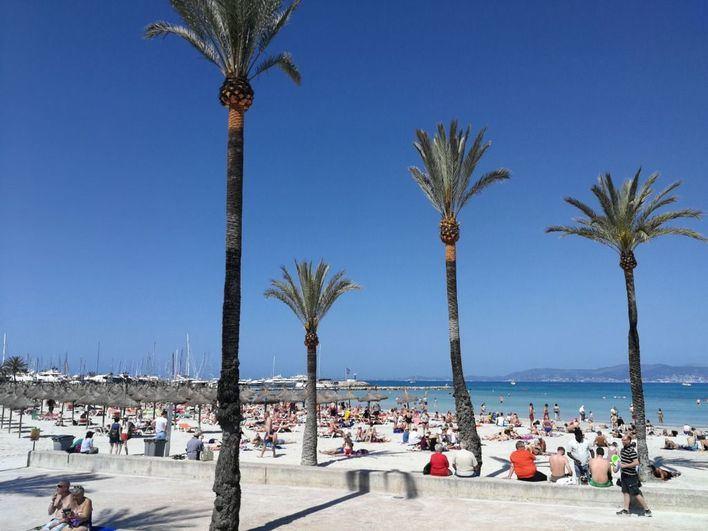Las temperaturas nocturnas bajan y suben las diurnas en Baleares