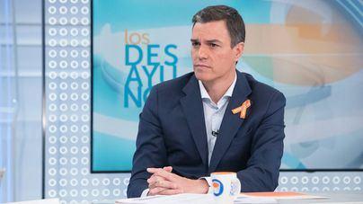 Sánchez afirma que no puede gobernar en coalición porque duda que Podemos apoyase un 155 en Cataluña