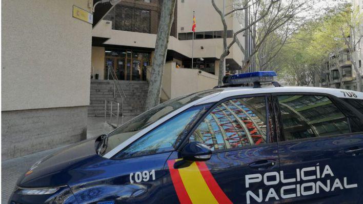 Detenido por robar un coche y provocar dos accidentes en Palma después de salir de la cárcel