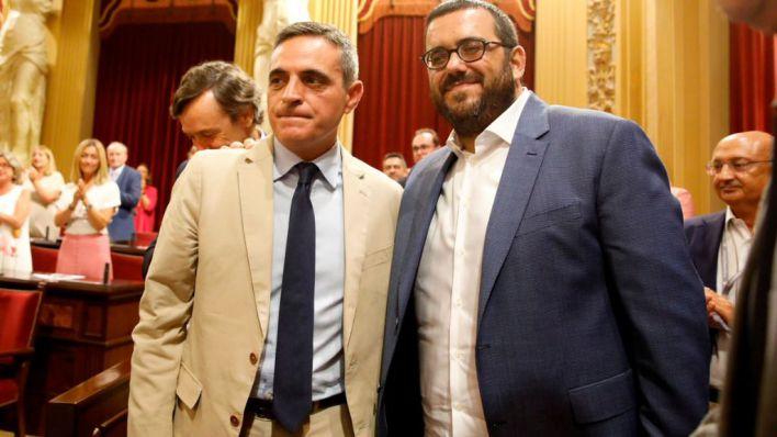 Marí Bosó y Vidal, nuevos senadores autonómicos de Baleares