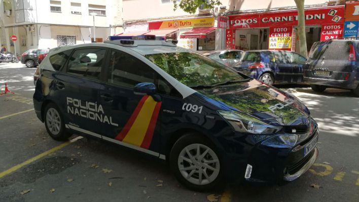 El coche policial 'gran hermano' ya circula por Palma