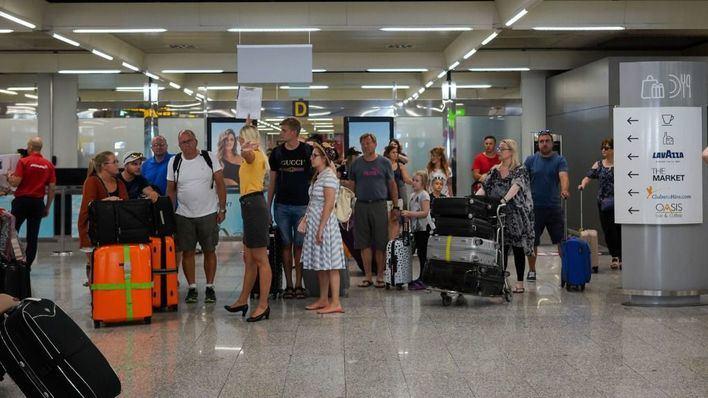 El tráfico de pasajeros del Aeropuerto de Palma creció un 2,1 por ciento en junio