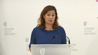 Armengol avala que Sánchez nombre ministros de Podemos: