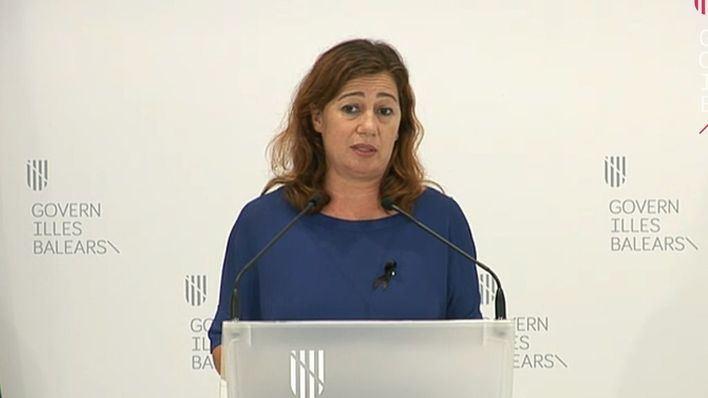 Armengol avala que Sánchez nombre ministros de Podemos: 'No tendría ningún problema'