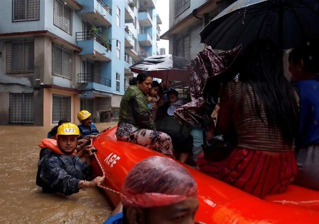 Más de 60 muertos por las fuertes tormentas en Nepal