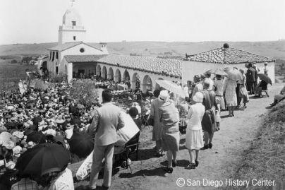 San Diego celebra sus 250 años fundada por el fraile mallorquín Juníper Serra