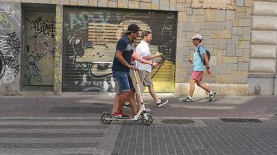 Patinetes eléctricos en Palma: la moda que llegó para quedarse