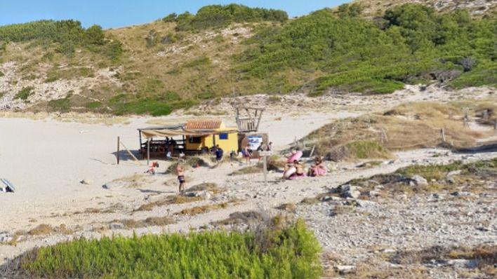 Unió Independents d'Artà pide eliminar difinitivamente el chiringuito de Cala Torta