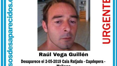 Localizado en buen estado el hombre desaparecido en Cala Rajada en mayo