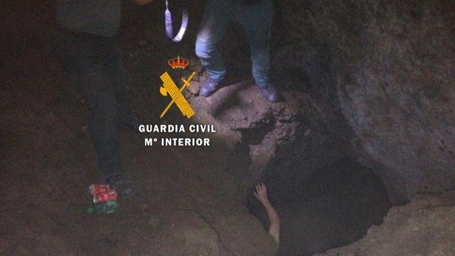 Los peligros de explorar cuevas