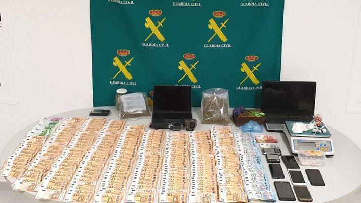 Golpe de la Guardia Civil al tráfico de drogas en Menorca