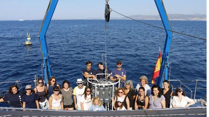 Las ganadoras de 'La mar de ciencia' disfrutan de un fin de semana científico en Mallorca
