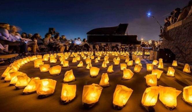 El Port d'Andratx acoge el concierto '1 piano y 200 velas'