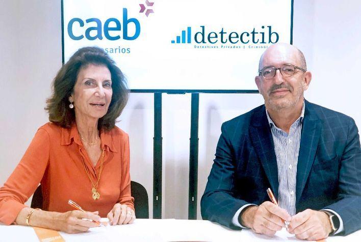 Caeb suma a Detectib para dar gratis servicios de investigación a personas desfavorecidas