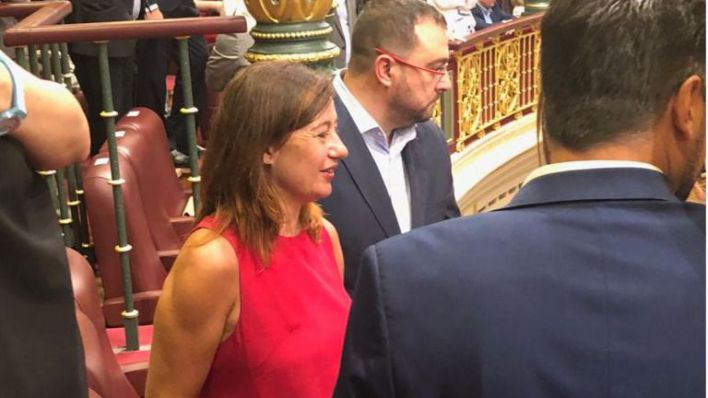 Armengol confía que Sánchez presida 'un gobierno sólido' con Unidas Podemos