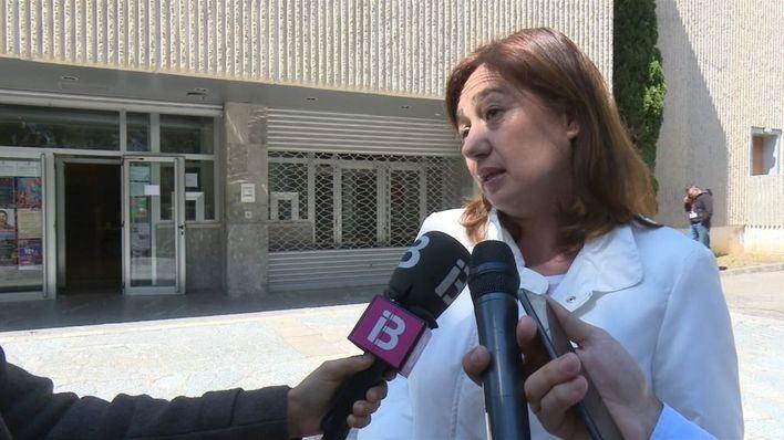 """Armengol pide """"responsabilidad"""" para que Sánchez pueda formar gobierno """"con rapidez"""""""