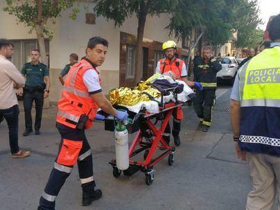 Continúa en estado crítico la mujer quemada en el incendio de s'Arenal