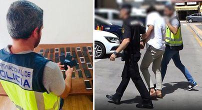 Desarticulado un grupo criminal dedicado a robar móviles de alta gama en zonas de ocio nocturno