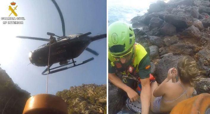 Rescatan a seis personas tras naufragar en la Bahía de Alcúdia