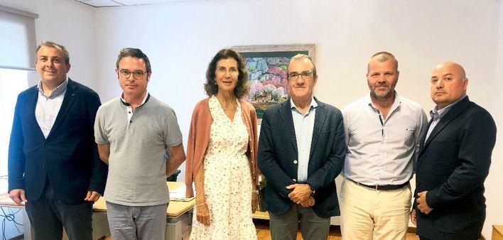 CAEB plantea a Yllanes la preocupación por el parón del sector industrial de Baleares