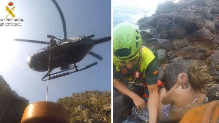 Baleares es la tercera comunidad en la que la Guardia Civil realiza más rescates en montaña