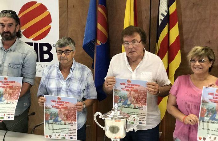 Mallorca acoge por primera vez la final de la Súpercopa de España de fútbol playa