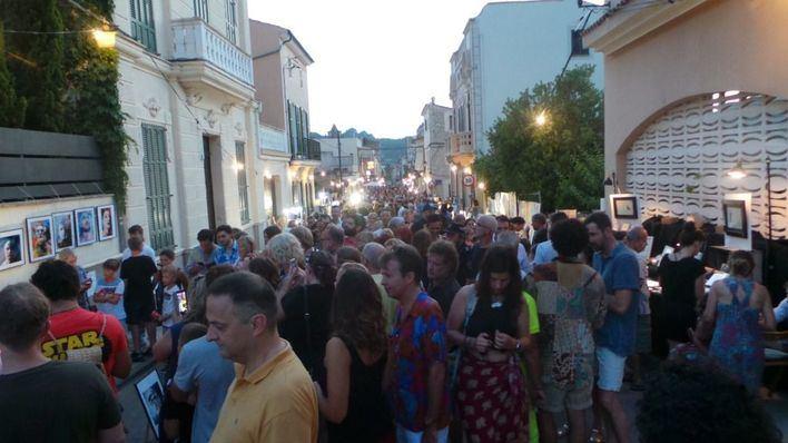 Cinco mil personas disfrutan de la IX Nit de l'Art de S'Arracó