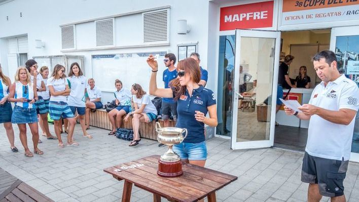 Equipos de Argentina y España competirán por el primer título femenino en la Copa del Rey Mapfre de vela