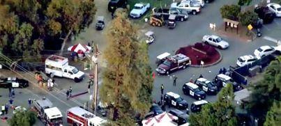 Cuatro muertos y 15 heridos en un tiroteo en California