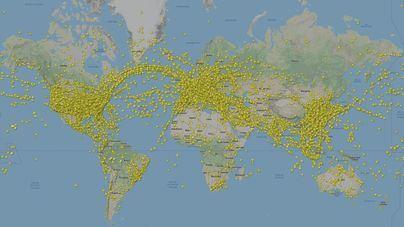 La aviación bate el récord en un solo día con más de 230.000 vuelos en todo el mundo