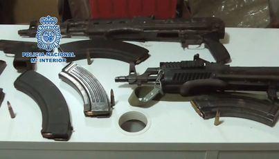 Cae una organización criminal con más de dos toneladas de hachís y armas de guerra