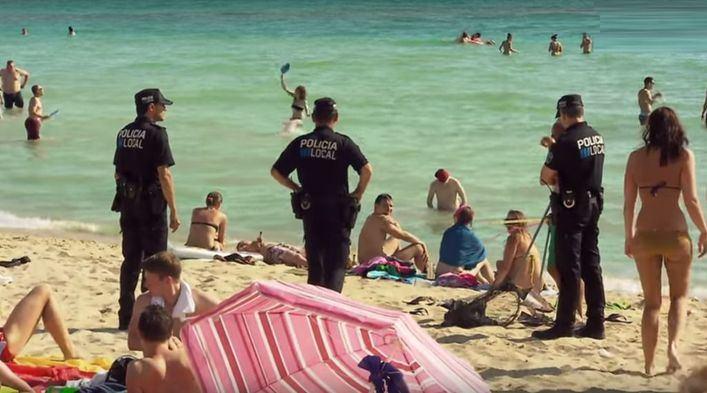Los hoteleros de Playa de Palma aplauden el incremento de policias en la zona