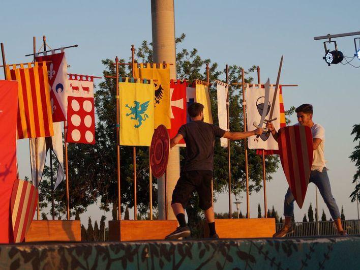 Mario Cano y Fernando Morilla, los nuevos rei En Jaume y Abu-Yahya de Santa Ponça