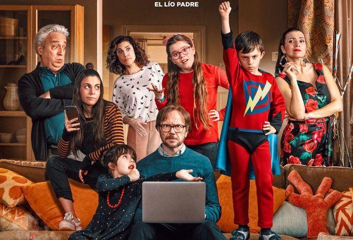 Santiago Segura vuelve a los cines con 'Padre no hay más que uno'
