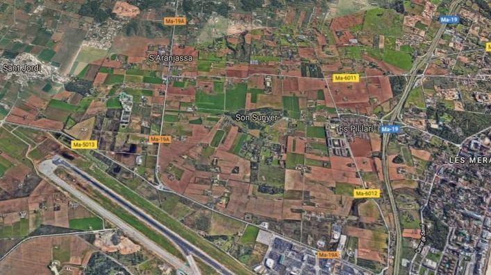 Palma pide 7,2 millones de la ecotasa para 5 proyectos, entre ellos un corredor verde junto al aeropuerto