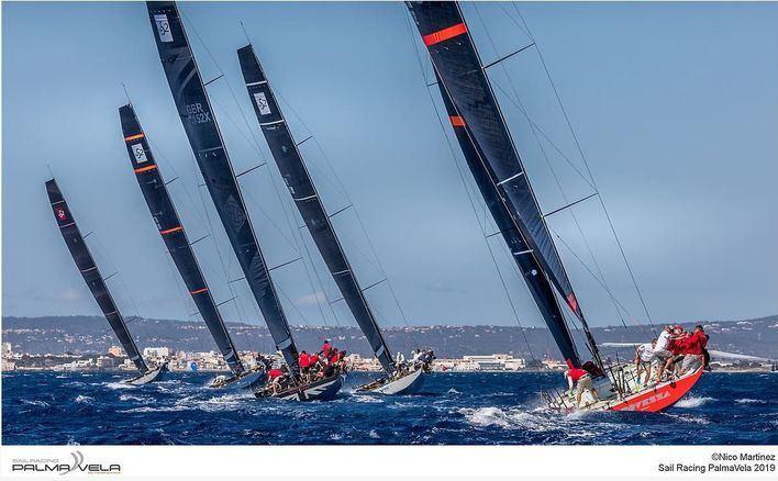 El viento protagoniza la tercera jornada de la Copa del Rey de Vela