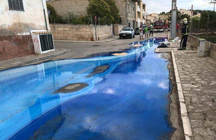Investigan si un vertido químico en Montuïri ha afectado a la red de agua