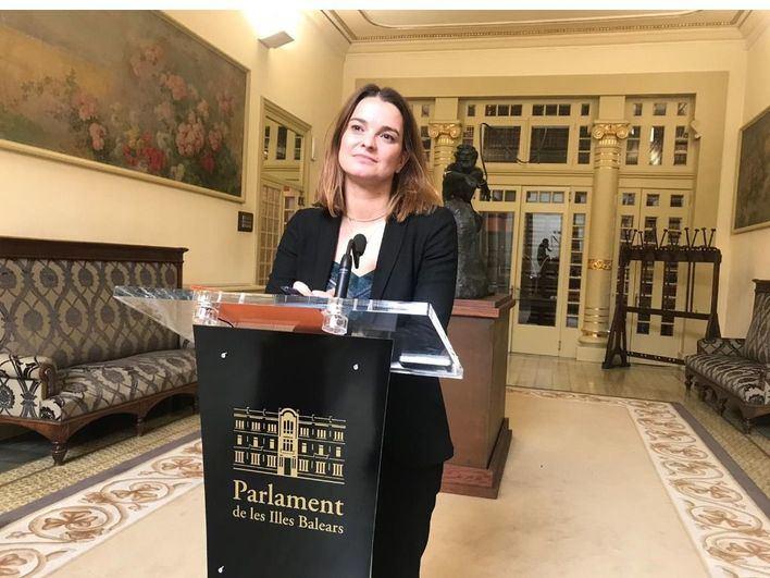 Prohens será la portavoz del PP en la Comisión de Igualdad en el Congreso de los Diputados