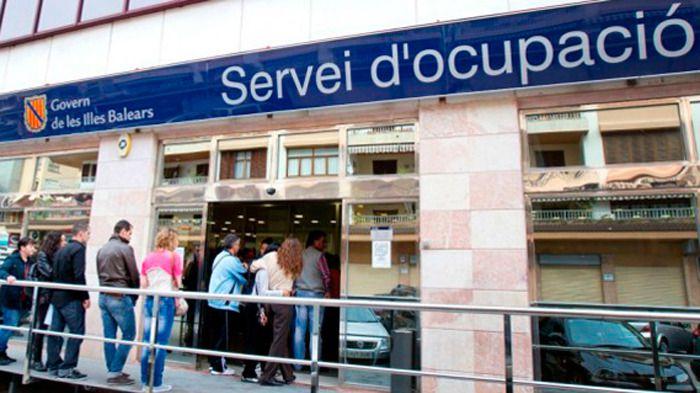 El paro sube un 0,7 por ciento en julio en Baleares hasta los 37.505 desempleados