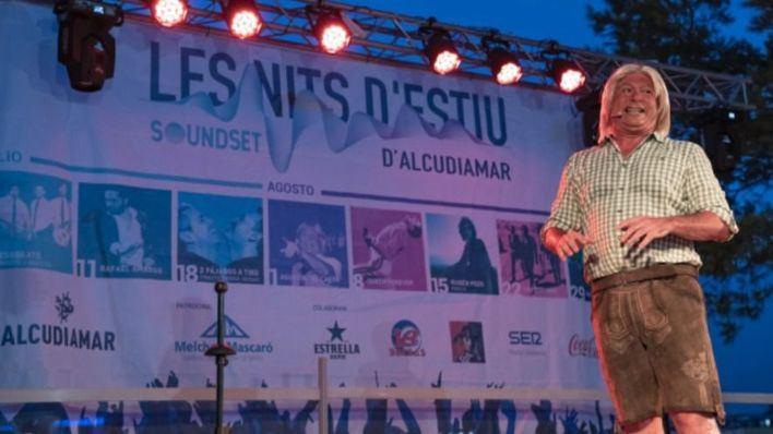 El Casta hace pleno absoluto en 'Les nits d'estiu d'Alcudiamar'