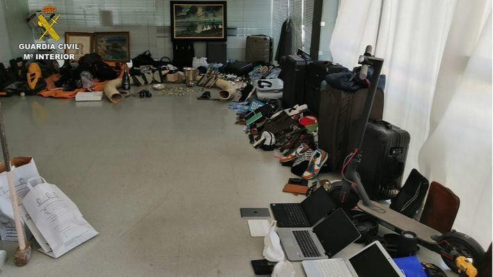 Desarticulado un grupo especializado en robos en viviendas en Ibiza
