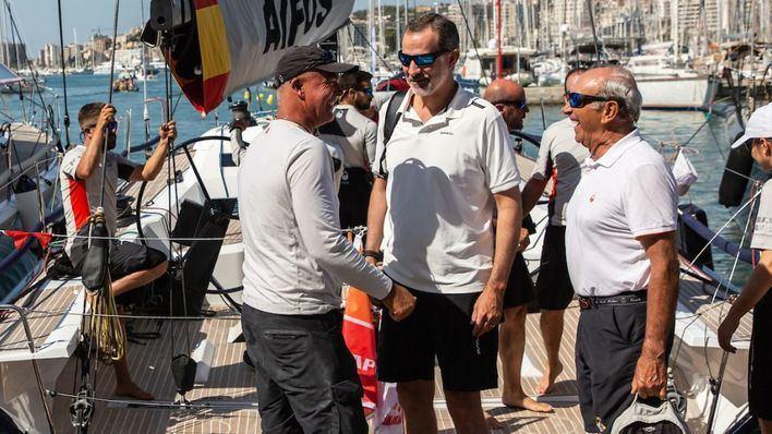 Felipe VI participa en la última jornada de la Copa del Rey con pocas opciones de ganar