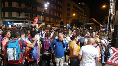 Unas 5.000 personas se citan en Palma para afrontar la marcha Des Güell a Lluc a peu