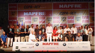 Felipe VI entrega los premios de la 38 Copa del Rey