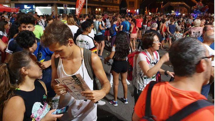 Cerca de 10.000 participantes en la marcha 'Des Güell a Lluc a Peu'